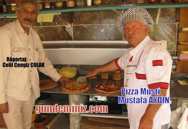 O bir radikal, Köyüne hobi olarak pizzacı açtı, bölgenin Pizza fenomeni oldu.