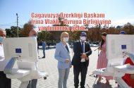 Avrupa Birliği, Gagaguzya'ya Koronavirüs teşhis cihazı bağışladı