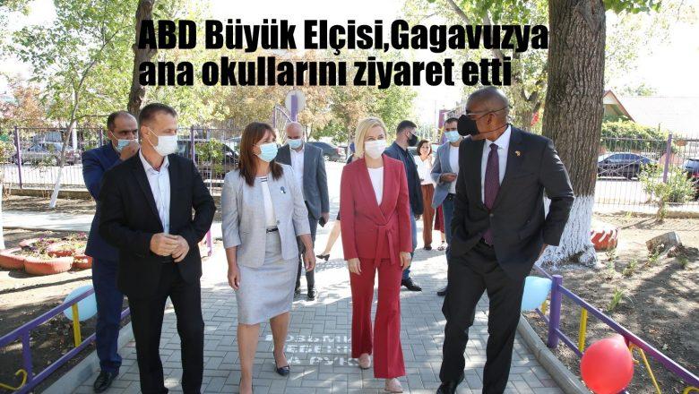 ABD Büyük Elçisi, Gagauzya anaokullarını ziyaret etti