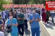 Sağlık çalışanları yürüdü