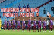 Trabzonspor'dan penaltı tepkisi