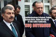 Cumhurbaşkanı Erdoğan, Fahrettin Koca, Bilim Kurulu ve 81 ilin valisi hakkında suç duyurusu