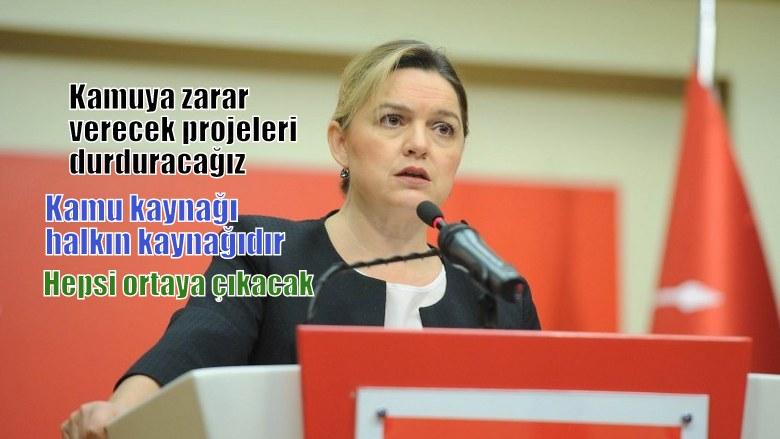 """CHP'li Böke: """"Kamuya zarar projeleri durduracağız"""""""