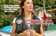 Gazeteci babanın, Arka Sokaklar TV dizisinin başarılı oyuncusu Bahar gundeminiz.com'a konuştu