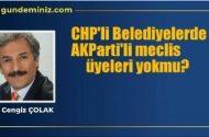 CHP'li Belediyeler de, muhalefet meclis…