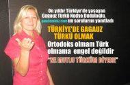 Türkiye'de Gagauz Türkü olmak…