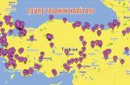 Çevre  talanın haritası…