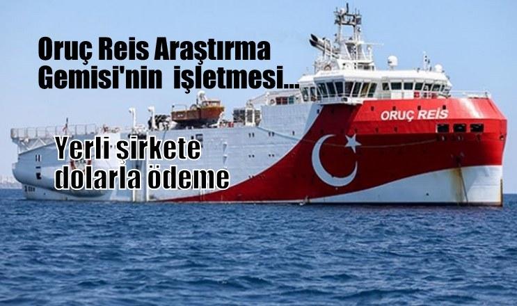 Oruç Reis Araştırma Gemisi'nin işletmesi…