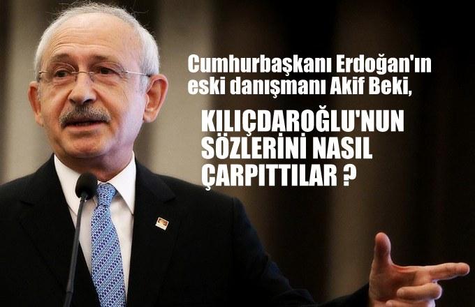 Cumhurbaşkanı Erdoğan'ın eski danışmanı, Kılıçdaroğlu'nun…
