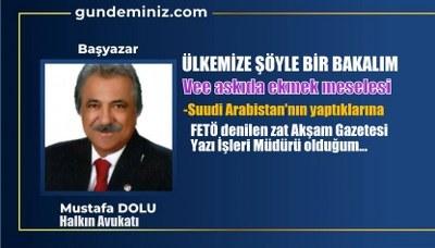 Mustafa DOLU: Ülkemize şöyle bir bakalım