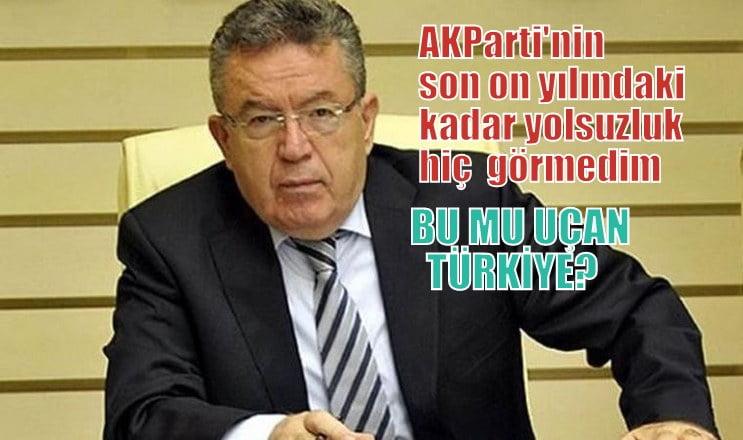 AKParti son 10 yılda yaptıkları gibi bir yolsuzluk hiç görmedim