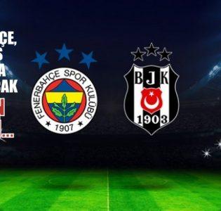 FB ve Beşiktaş arasında oynanacak derbi maçının tarihi…