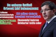 Ahmet Davutoğlu: Bu nasıl bir ciddiyetsizliktir. 18 yıllık iktidara,  18 günlük iktidar muamelesi mi yapalım?