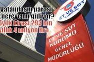Vatandaşın parası nereye mi gidiyor?