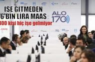 Bakanlıkta 'çalışmadan 6 bin lira  maaş' iddiası