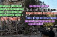 Koskoca profesör çıkmış, deprem konusunda her şeyi devletten beklemeyin diyor.