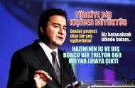 Ali Babacan: Türkiye bir kişiden büyüktür