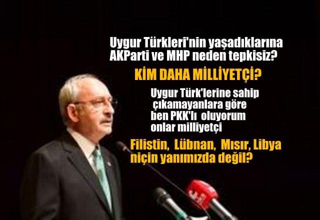 Kılıçdaroğlu: Kim daha milliyetçi?