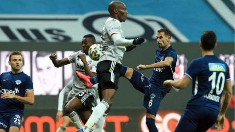Süper Lig'de 11. haftanın açılış mücadelesinde Beşiktaş Kasımpaşa'yı 3-0 skorla mağlup etti.