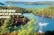 Turizm Bakanı Ersoy'un otel ısrarı…
