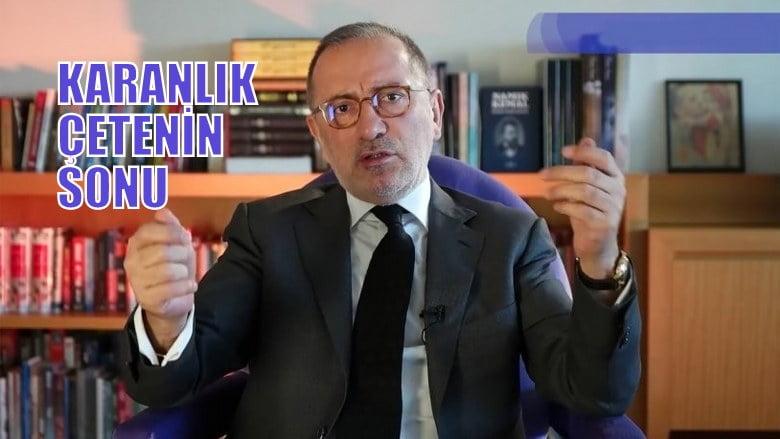 Fatih Altaylı: 'karanlık çetenin sonu'