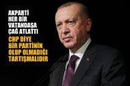 Cumhurbaşkanı Erdoğan: AKParti her bir vatandaşa çağ atlattı