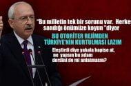 Kılıçdaroğlu:Bu milletin temelde bir sorunu var. Herkes sandığı bekliyor