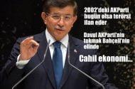 Davutoğlu: 2002'nin AKParti'si bugün olsa Bahçeli kapatalım derdi