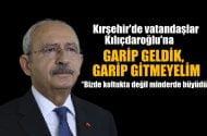 Kılıçdaroğlu: Biz  koltuklarda büyümedik,  minderde büyüdük