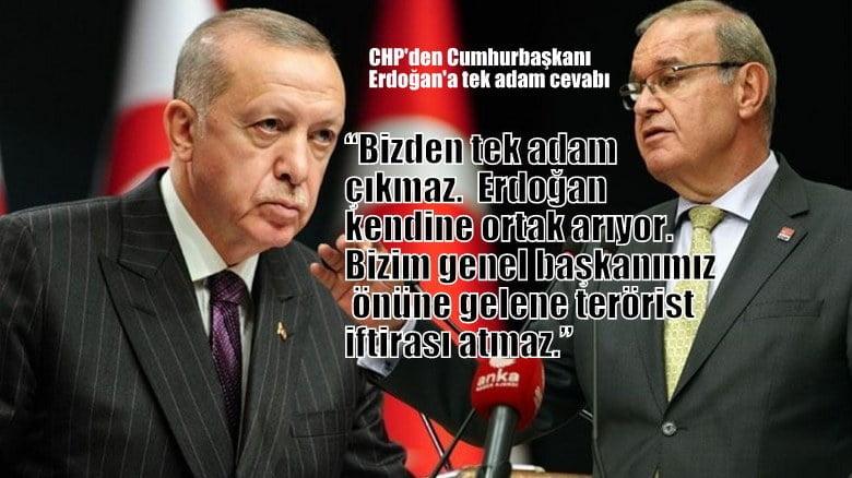 CHP'li Öztrak'tan Cumhurbaşkanı Erdoğan'a tek adam cevabı