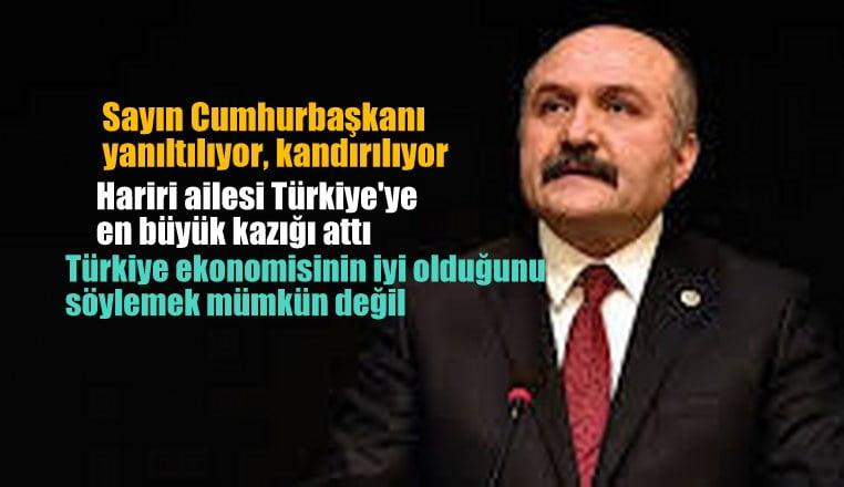 """İYİParti'li USTA: """"Hariri ailesi Türkiye'ye en büyük kazığı attı"""