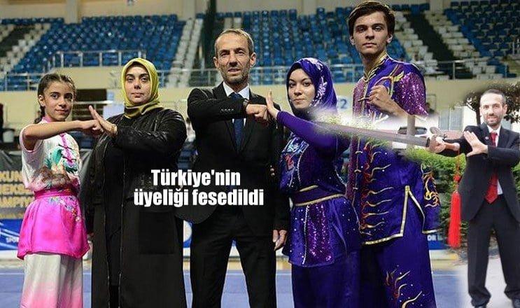 Türkiye'nin üyeliği feshedildi