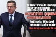 Lütfü Türkkan: Şu anda Türkiye'de, sinemaya, tiyatroya gidemezsiniz…