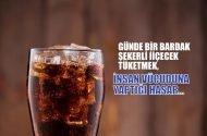 Günde 1 bardak şekerli içecek tüketmek insan vücuduna…