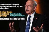 Cumhurbaşkanı Erdoğan'a seslenen Kılıçdaroğlu: Sen inat edeceğine…