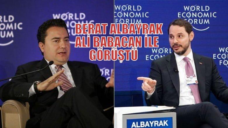 Berat Albayrak Ali Babacan ile görüştü İddiası!
