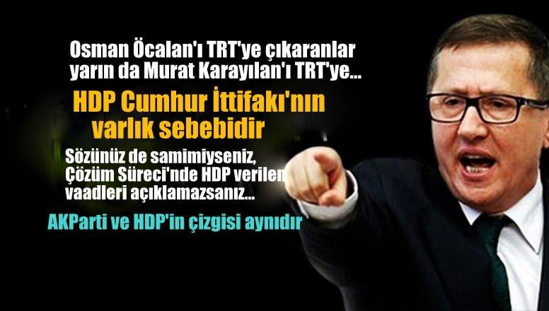İYİ Parti'li Türkkan: Osman Öcalan'ı TRT'ye çıkaranlar yarın Murat Karayılan'ı da TRT'ye…