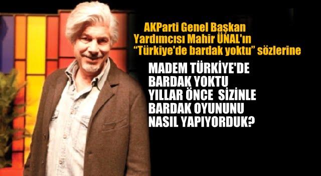 Türkiye'de bardak yoktu' diyen AKPARTİ'li Mahir Ünal'a Behzat Uygur:…
