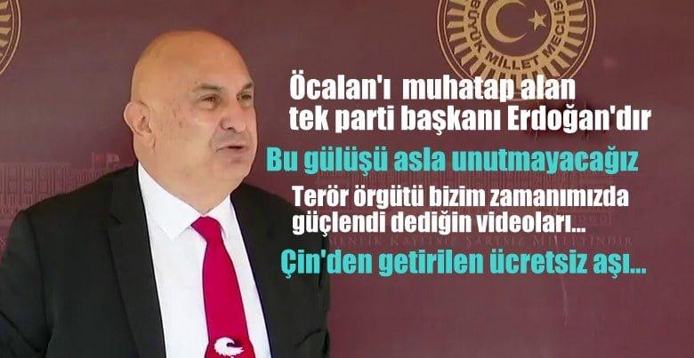 CHP'li Engin Özkoç: Kandil'i muhatap alan tek siyasi parti genel başkanı Erdoğan'dır
