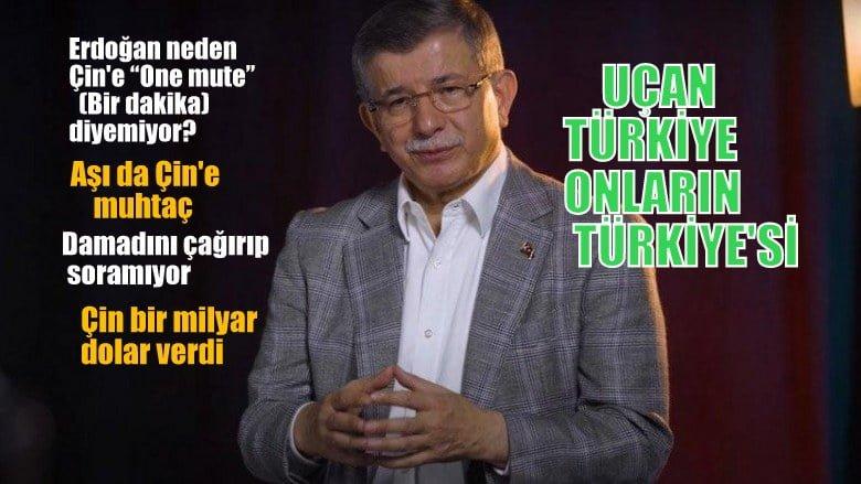 """Davutoğlu: """"Kanal İstanbul """"vahim bir hata"""""""