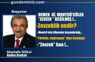 """Mustafa DOLU: Demek ki, Montrö'cüler """"Zevzek"""" değilmiş!.."""