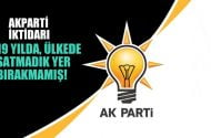 AKParti iktidarı, 19 yılda  ülkede satmadık yer bırakmamış!