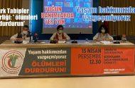 Türk Tabipler Birliği: Tüm kentlerde 'ölümleri durdurun'