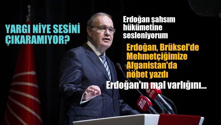 CHP Parti Sözcüsü Öztrak: Yargı niye sesini çıkaramıyor?