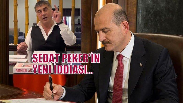 Sedat Peker'in yeni iddiası …