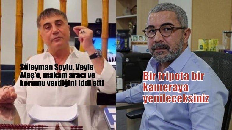 Sedat Peker: Süleyman Soylu, Veyis Ateş'e Mercedes makam aracı, koruma verdiğini iddia ediyor