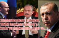Korkusuz Yazarı Bayraktaroğlu;Cumhurbaşkanı Erdoğan, TBMM Başkanı Şentop'a Soylu'yu makamına çağır ve…