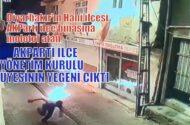 Diyarbakır'ın Hani İlçesinde AKParti binasına molotof atan kişi AKParti'li yöneticinin yeğeni