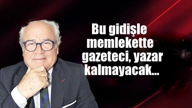 Korkusuz Yazarı Bayraktaroğlu: Bu gidişle memlekette gazeteci/yazar kalmayacak…