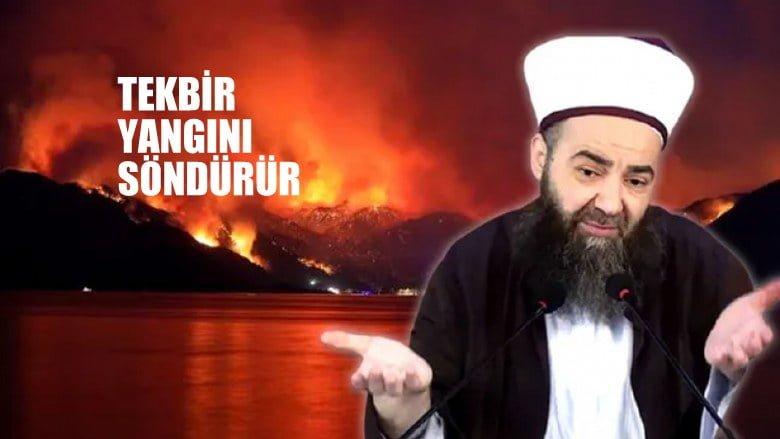Cübbeli Ahmet Hoca:  Tekbir, yangınları söndürür